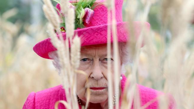 La reina Isabel II de Inglaterra, en Cambridge el pasado martes.