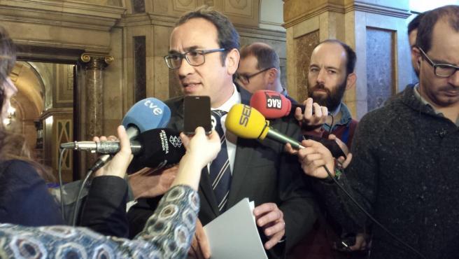 El exconseller Josep Rull en una imagen de archivo.