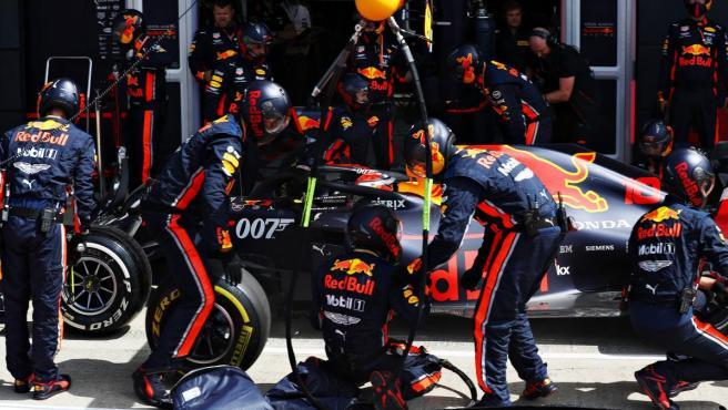 Red Bull logra la parada en boxes más rápida de la historia: ¡1,91 ...