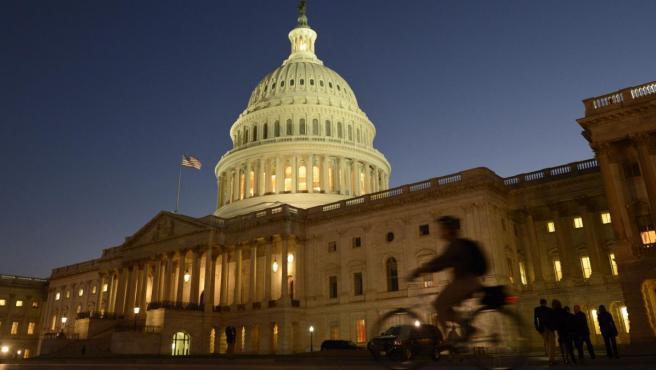 El Capitolio, edificio que alberga las dos cámaras del Congreso de los Estados Unidos, en Washington DC.