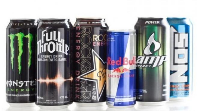 Varias de las bebidas energéticas que ofrece el mercado.
