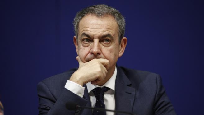 El expresidente del Gobierno José Luis Rodríguez Zapatero, en una imagen de archivo.