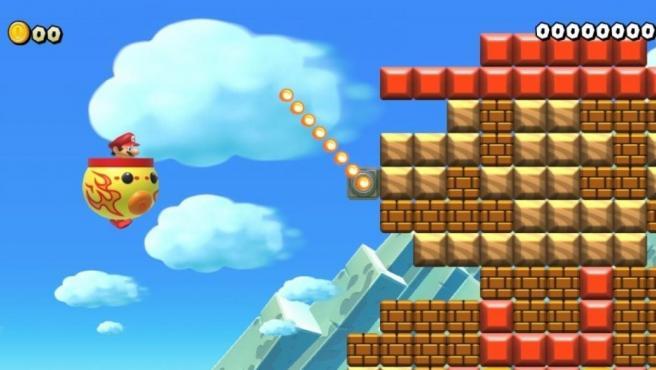 Una captura de 'Super Mario Maker 2' para Switch.