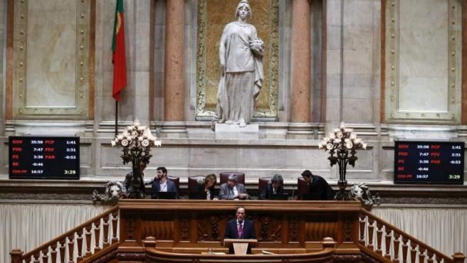 Una sesión en el Parlamento de Portugal