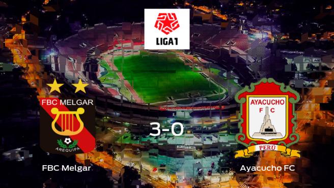 El FBC Melgar golea en su feudo al Ayacucho FC (3-0)
