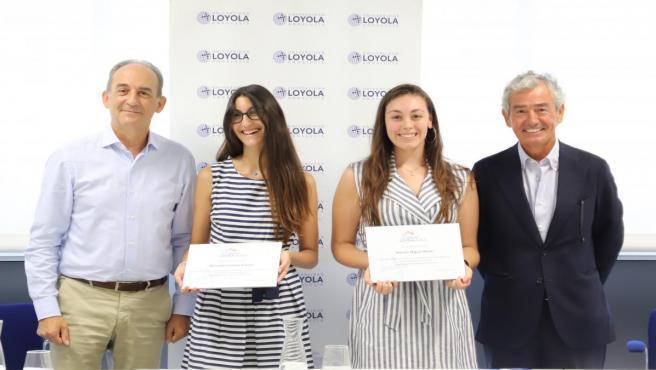 Mariela Míguez estudiará el Grado en Psicología y Mercedes Cornejo estudiará el Grado en Comunicación el próximo curso