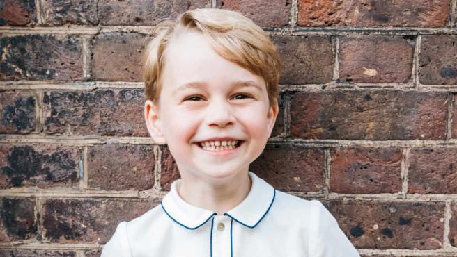 El príncipe Jorge, hijo mayor de los duques de Cambridge.