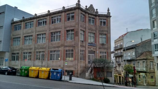 EL colegio Salesianos María Auxiliadora de Vigo, en una imagen de archivo.