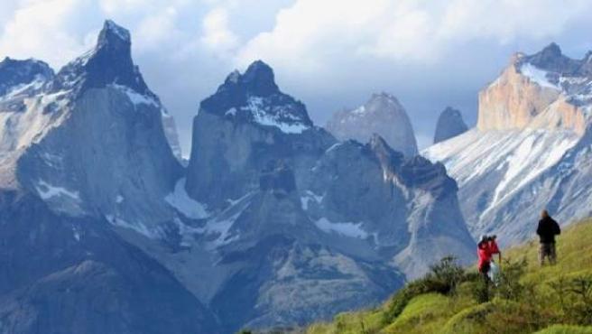 Torres del Paine, en la Patagonia chilena.