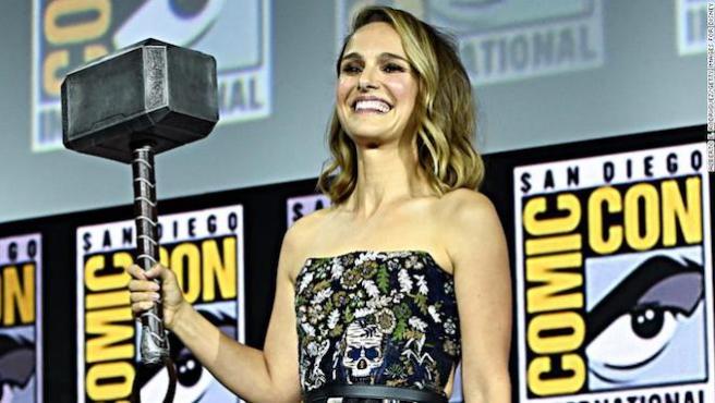 Natalie Portman promete ponerse cachas para 'Thor: Love and Thunder'