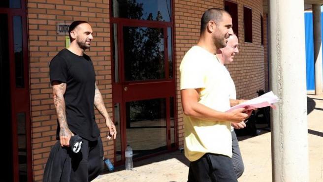 Bravo y Aranda abandonan la prisión tras el pago de la fianza