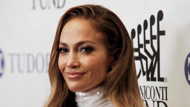 La cantante Jennifer Lopez durante de la gala anual 'Great Sport Legends'.