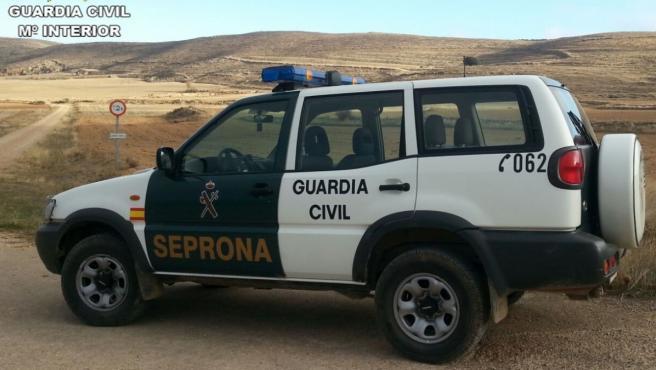 Imagen de archivo de un vehículo del SEPRONA de la Guardia Civil.