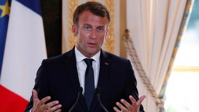 <p>El presidente de Francia, Emmanuel Macron.</p>
