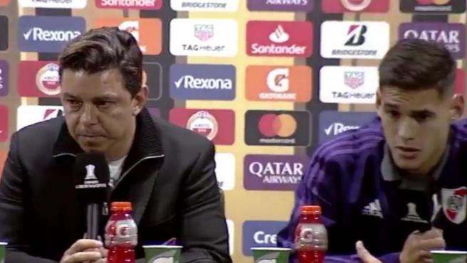 Gallardo y el 'Chino' Martínez Quarta