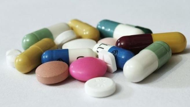 Imagen de distintas pastillas.