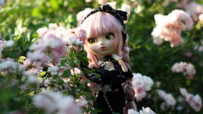 Para una sesión de fotos, se buscan escenarios atractivos y se llevan varios cambios de ropa para las muñecas.