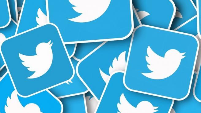 Imagen del logotipo de la red social Twitter.