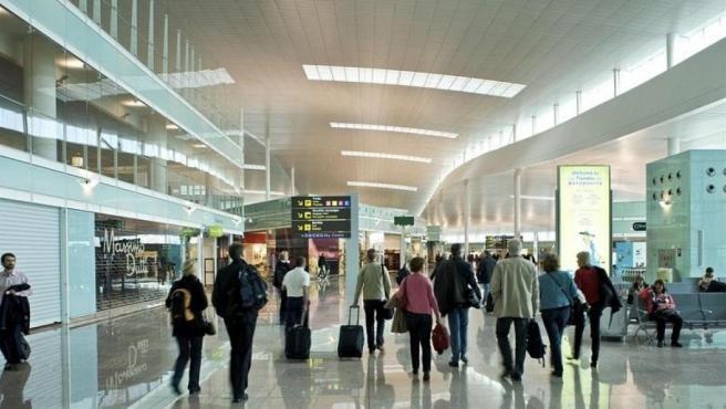 Aeropuerto de Barcelona-El Prat.
