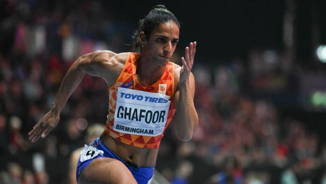 Madiea Ghafoor, atleta neerlandesa.