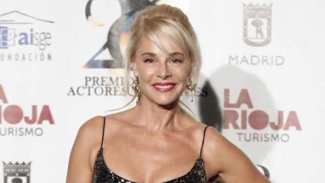 La actriz Belén Rueda, en los Premios de la Unión de Actores 2019.