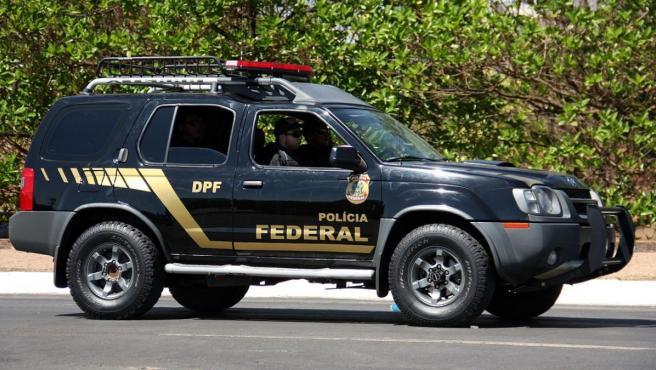 Un vehículo de la Policía Federal de Brasil, en una imagen de archivo.