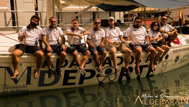 La tripulación del Aldebarán