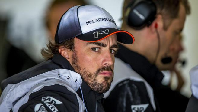 Fernando Alonso, en su época de McLaren-Honda.