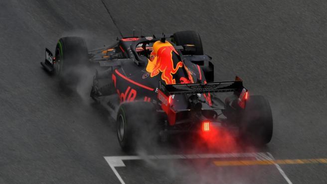 Max Verstappen, durante el GP de Alemania de Fórmula 1.