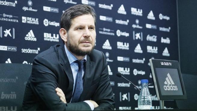 El director general del Valencia CF, Mateu Alemany.