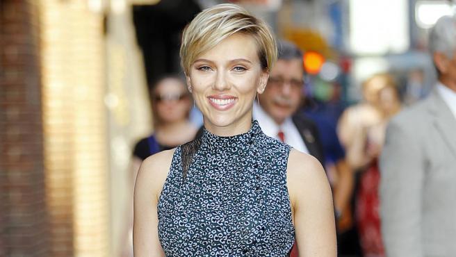 La actriz Scarlett Johansson, en 2017.