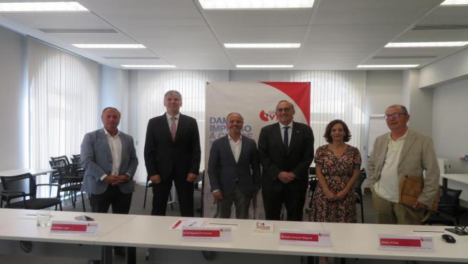La presentación del informe ha tenido lugar en las instalaciones de la Zona Franca