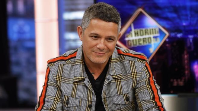 Alejandro Sanz en 'El hormiguero'.