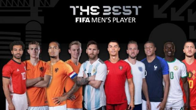 Los nominados al The Best como mejor jugador