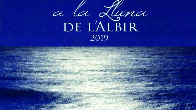 Cartel del ciclo de conciertos en Concerts a la lluna de l'Albir en l'Alfàs del Pi.