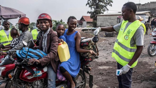Protocolo contra el ébola en la ciudad de Goma (RDC).