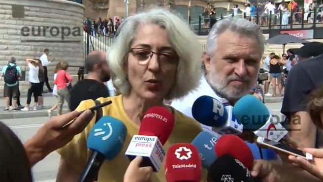 La presidenta de la Federación de Asociaciones de Vecinos de Barcelona (FAVB), Ana Menéndez Martínez de Bartolomé.