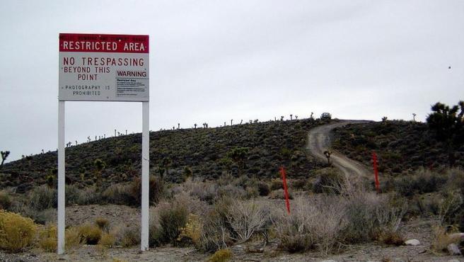 Base militar 'Área 51' en Nevada.