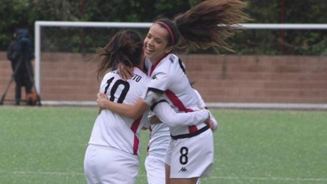Jugadoras del CD Tacón, futuro Real Madrid femenino.