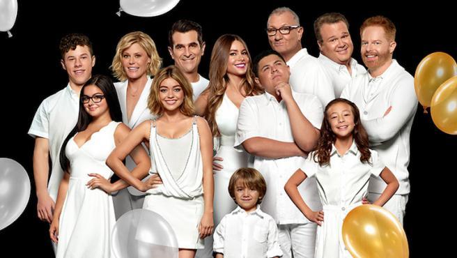 Sofía Vergara enseña cómo ha cambiado el reparto de 'Modern Family'