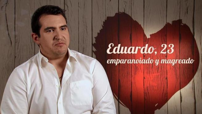 Eduardo, en 'First dates'.