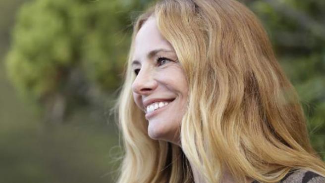 La presentadora Paula Vázquez, en 'El Puente'.