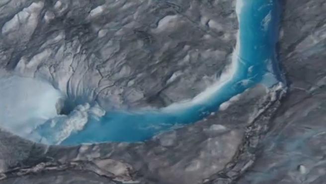 Groenlandia ha perdido 160.000 millones de toneladas de hielo solo en el mes de julio.