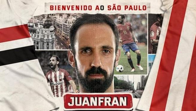 Juanfran, nuevo jugador del Sao Paulo