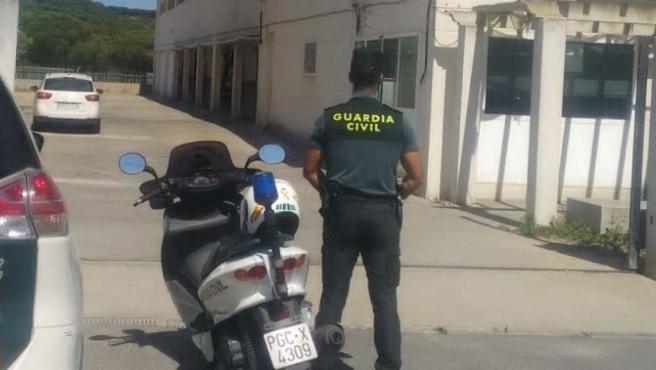 Guardia Civil en Matalascañas (Huelva)