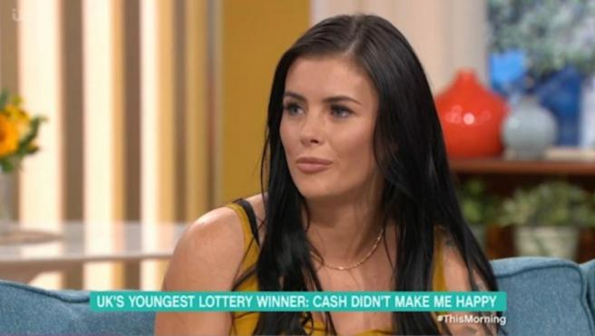 Callie Rogers fue la ganadora más joven de la Lotería en el Reino Unido.