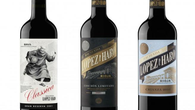 Los vinos de López de Haro puntuados por Suckling
