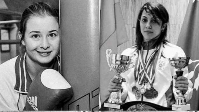 Fatima Zhagúpova y Elina Guisméyeva.