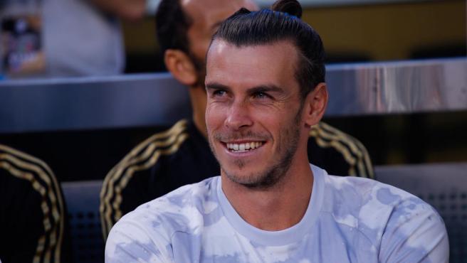 Gareth Bale, durante la pretemporada del Real Madrid.