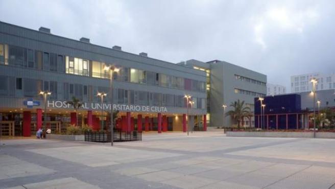 <p>Hospital universitario de Ceuta.</p>